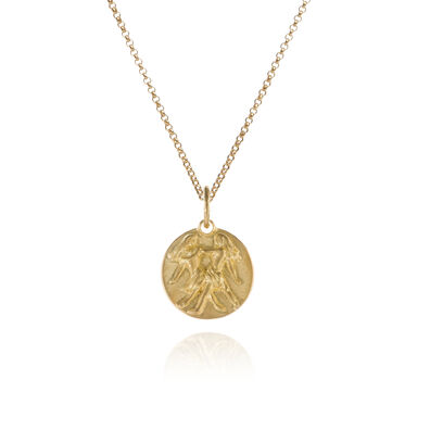 Mythology 18ct Gold Gemini Necklace