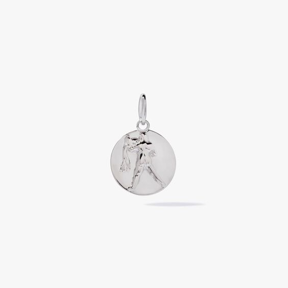 Mythology 18ct White Gold Aquarius Pendant   Annoushka jewelley