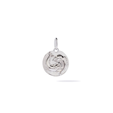 Mythology 18ct White Gold Pisces Pendant