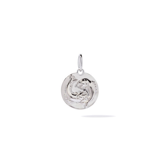 Mythology 18ct White Gold Pisces Pendant | Annoushka jewelley