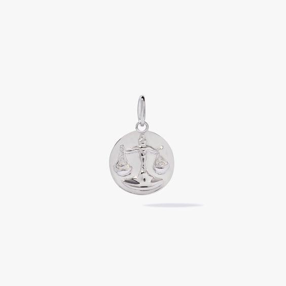 Mythology 18ct White Gold Libra Pendant | Annoushka jewelley