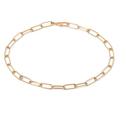 14ct Gold Mini Cable Chain Large Bracelet