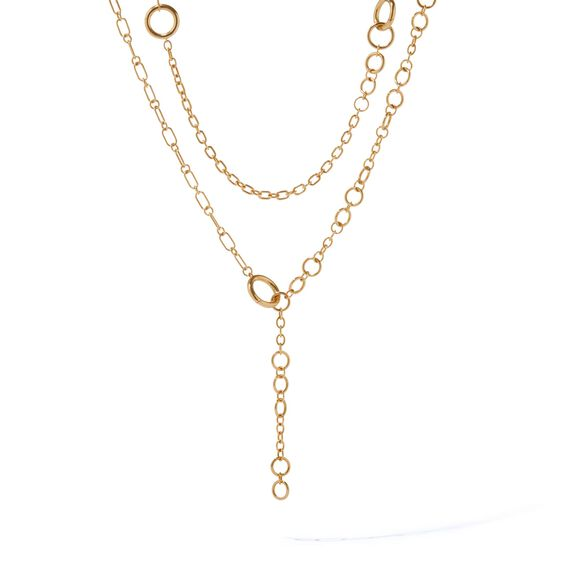 18ct Gold Biography Chain | Annoushka jewelley