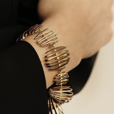 Garden Party 18ct Gold Diamond Bracelet