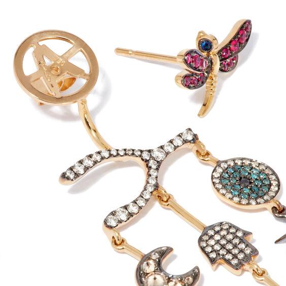 Love Diamonds 18ct Yellow Gold Diamond Chandelier Earrings | Annoushka jewelley