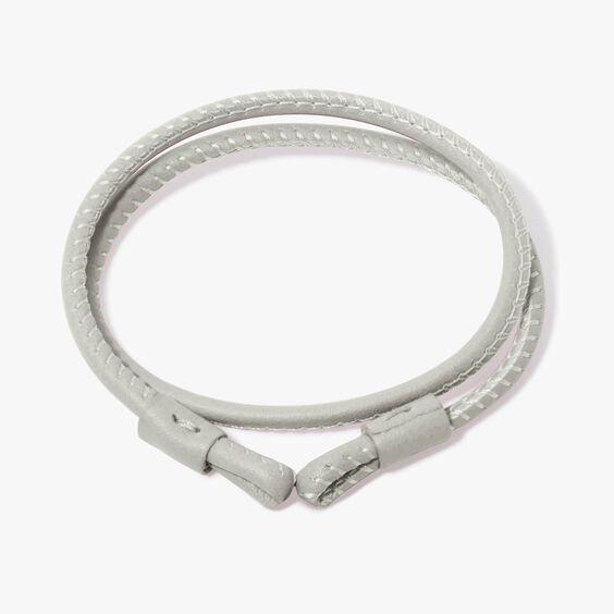 41cms Cream Leather Bracelet | Annoushka jewelley