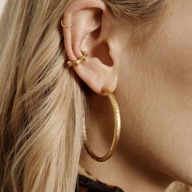 Bamboo 18ct Gold Ear Cuff