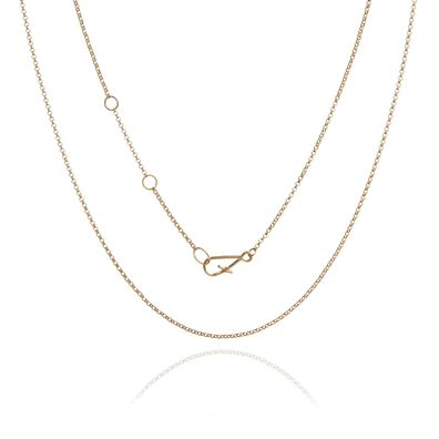 18ct Gold Fine Belcher Chain