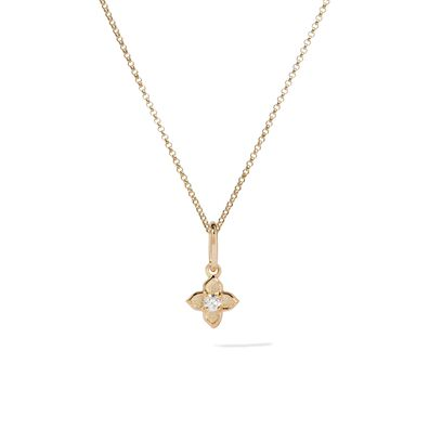 Tokens 14ct Gold Diamond Necklace