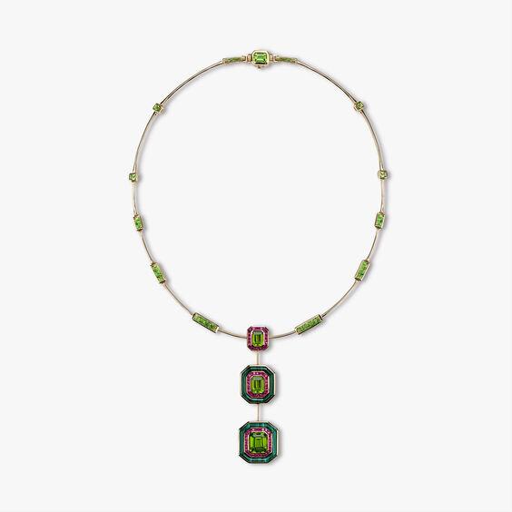 Unique 18ct Gold Radiance Peridot Choker | Annoushka jewelley
