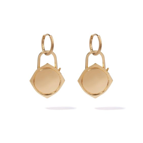 Lovelock 18ct Gold Charm Drop Earrings | Annoushka jewelley