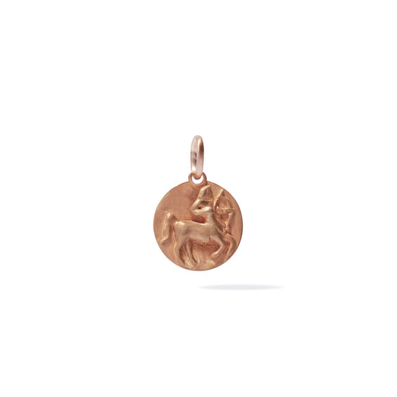 Mythology 18ct Rose Gold Sagittarius Pendant