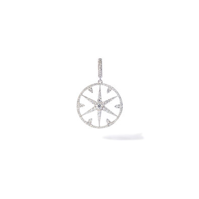 Mythology 18ct White Gold Diamond Small Star Charm