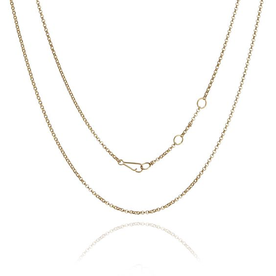 18ct Gold Belcher Chain | Annoushka jewelley