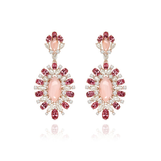 Sutra Pink Opal Earrings