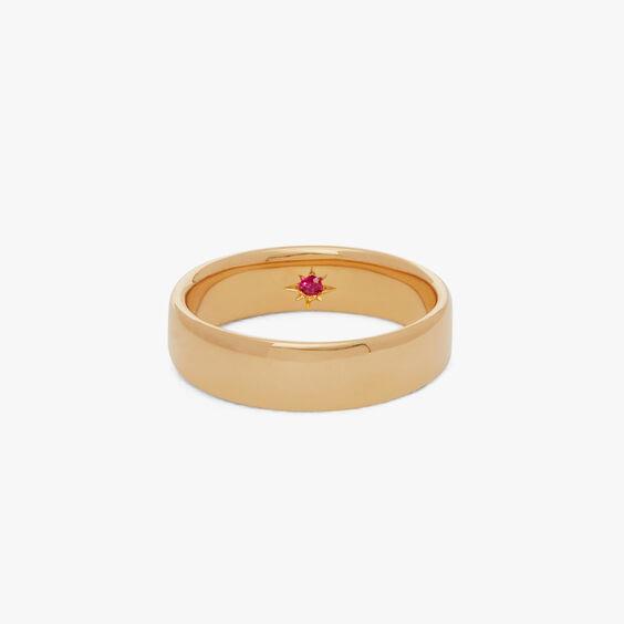 18ct Gold 5mm Wedding Band   Annoushka jewelley