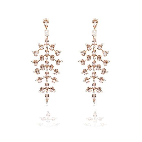 Sutra Morganite Earrings | Annoushka jewelley