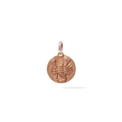 Mythology 18ct Rose Gold Scorpio Pendant