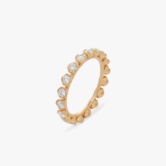 Marguerite 18ct Yellow Gold Diamond Eternity Ring