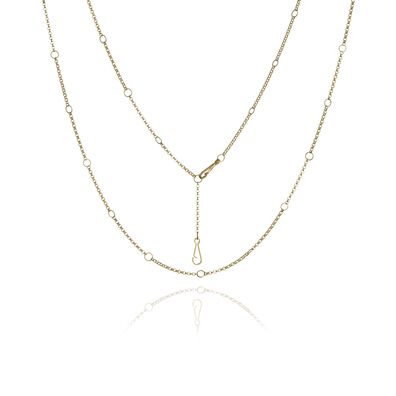 Hoopla 18ct Gold Short Chain