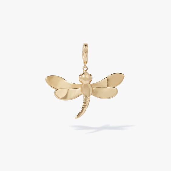 Mythology 18ct Gold Diamond Dragonfly Charm | Annoushka jewelley