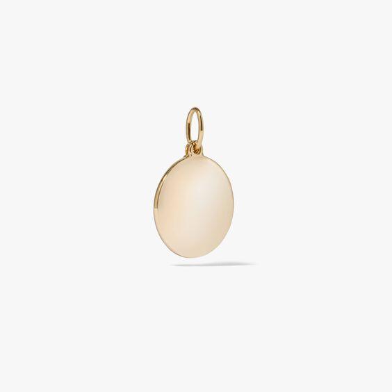 Tokens 14ct Gold Diamond Disc | Annoushka jewelley