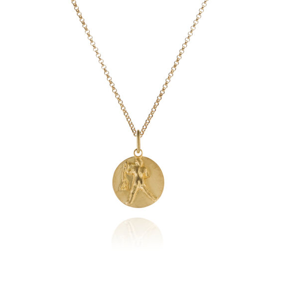 Mythology 18ct Gold Aquarius Necklace | Annoushka jewelley