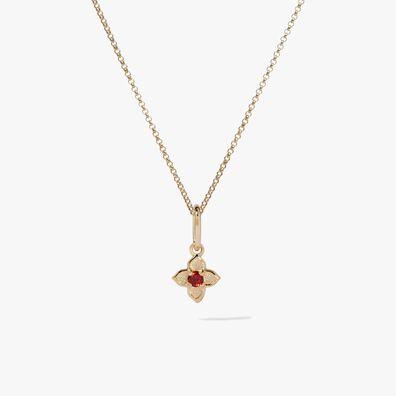 Tokens 14ct Gold Garnet Necklace