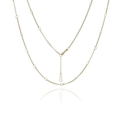 Hoopla 14ct Gold Short Chain