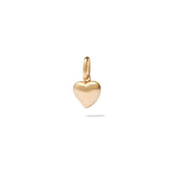 18ct Gold Small Heart Charm | Annoushka jewelley