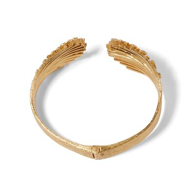 Hidden Reef 18ct Gold Diamond Cuff