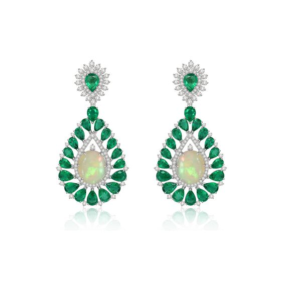 Sutra Opal Earrings | Annoushka jewelley
