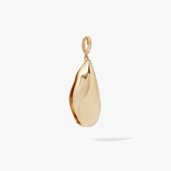18ct Gold Diamond Mussel Pendant | Annoushka jewelley