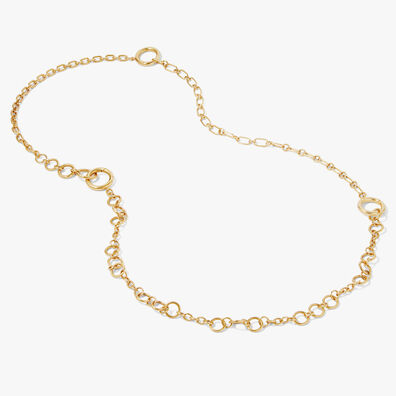 18ct Gold Three Wishes Necklace