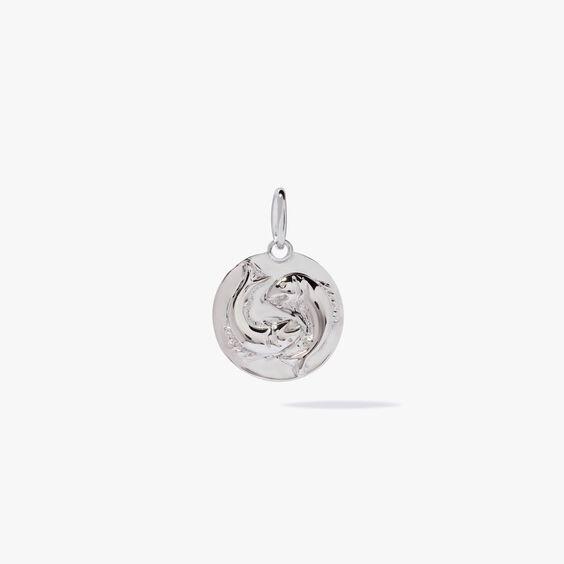 Mythology 18ct White Gold Pisces Pendant | Annoushka jewelley