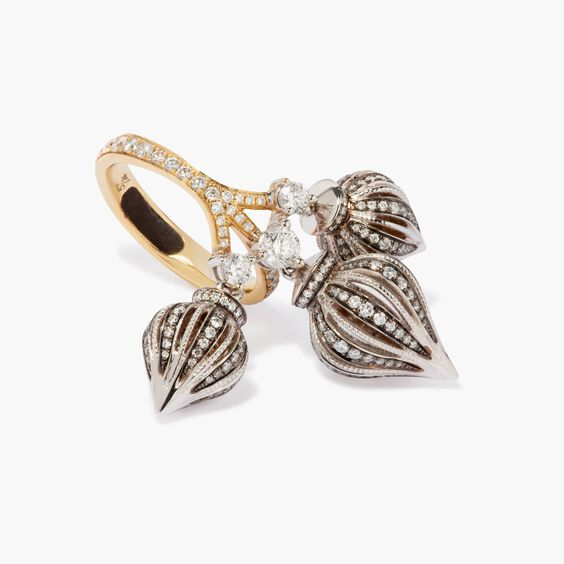 Touch Wood 18ct Gold 2.16 ct Diamond Ring   Annoushka jewelley