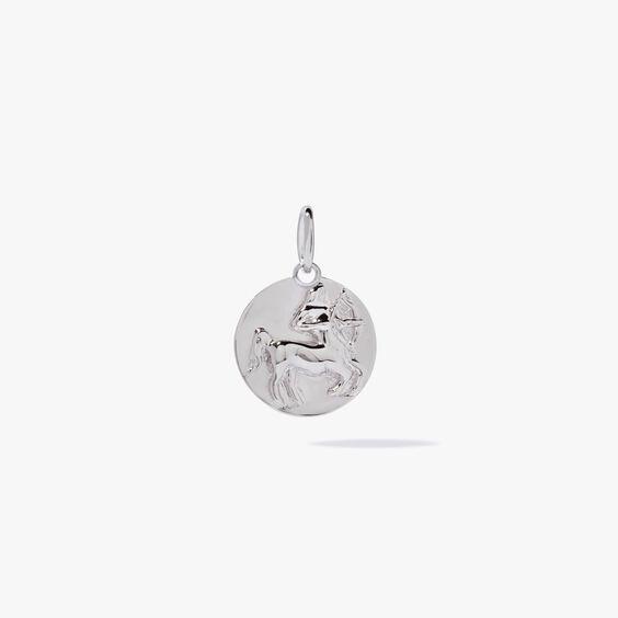 Mythology 18ct White Gold Sagittarius Pendant | Annoushka jewelley