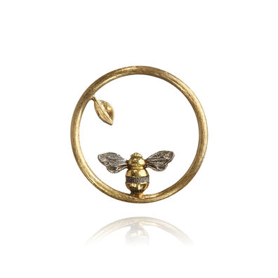 18ct Gold Bee Hoopla