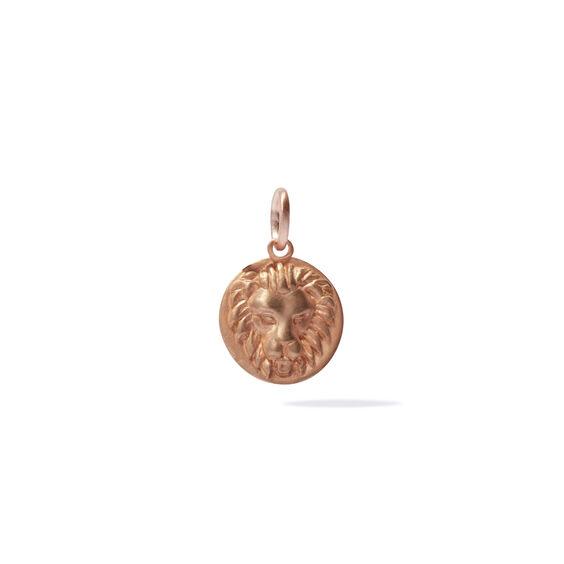 Mythology 18ct Rose Gold Leo Pendant