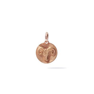 Mythology 18ct Rose Gold Aries Pendant
