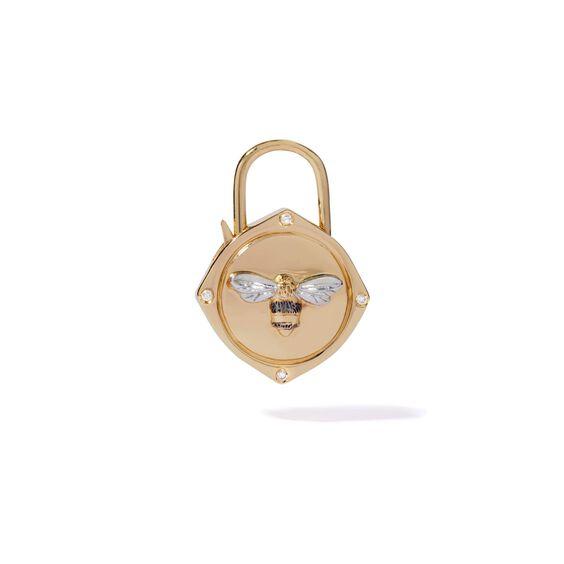 Lovelock 18ct Gold Diamond Bee Charm   Annoushka jewelley