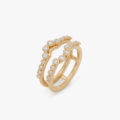 Marguerite 18ct Gold Jacket Ring