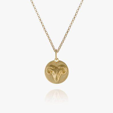 Mythology 18kt Gold Aries Necklace