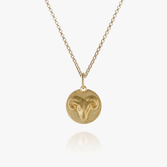 Mythology 18ct Gold Aries Necklace | Annoushka jewelley