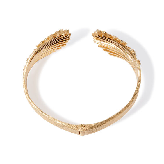 Hidden Reef 18ct Gold Sapphire Cuff | Annoushka jewelley