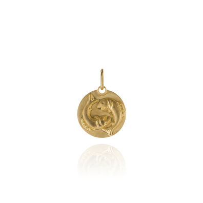 Mythology 18ct Gold Pisces Pendant