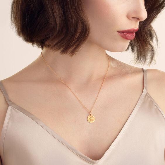 Mythology 18ct Rose Gold Cancer Pendant | Annoushka jewelley