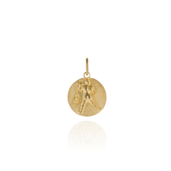 Mythology 18ct Gold Aquarius Pendant | Annoushka jewelley