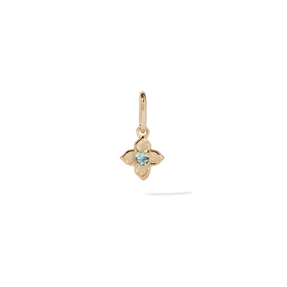 Tokens 14ct Gold Aquamarine Pendant | Annoushka jewelley