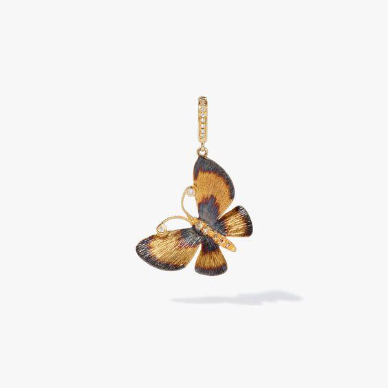 18ct Gold Butterflies Charm